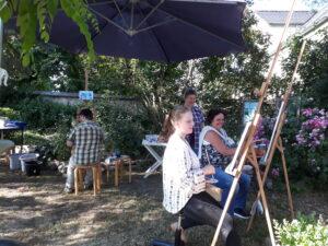 Sommer im Distelhof